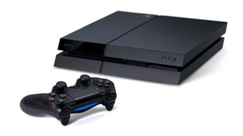 PS4 with DualShock 4