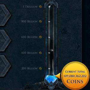 RuneScape Charity Ticker