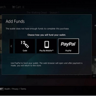 PS3 Paypal