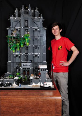 batman arkham aslyum lego model comparison