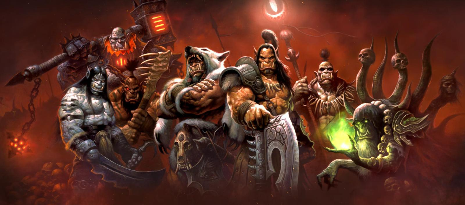 World of Warcraft Warlords of Draenor Orc leaders
