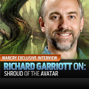 Richard Gariott Lord British Shroud of the Avatar