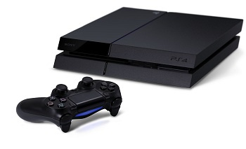 PlayStation 4 and controller