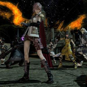 Final Fantasy XIV Lightning Event