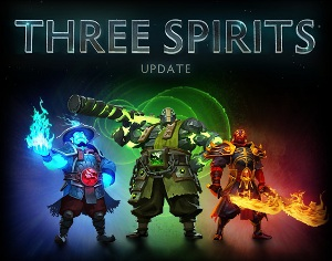 Dota 2 Three Spirits
