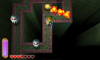 Legend of Zelda A Link Between Worlds screen