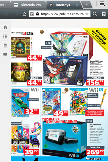Pokemon X and Y 2DS bundle ad