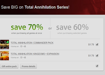 Total Annihilation 24 Hour Sale