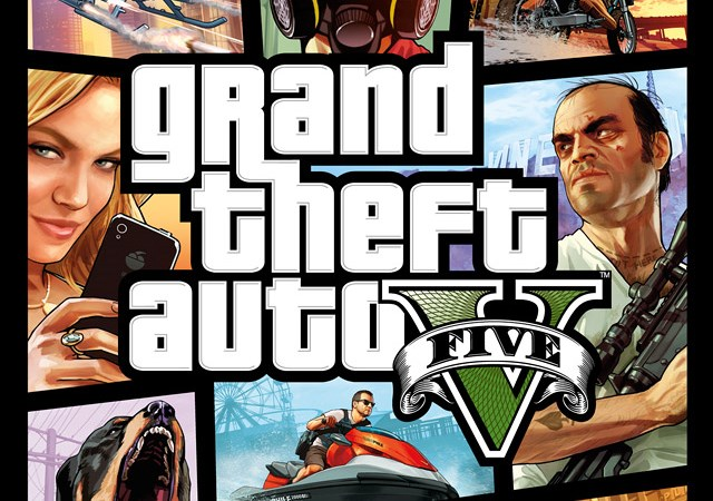 Grand Theft Auto V cover detail