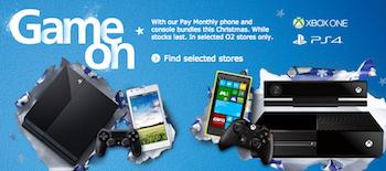 O2 console promo