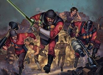 Team Fortress Comics 2 Unhappy Returns