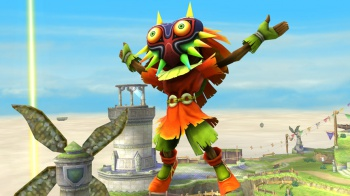 skull kid in super smash bros 3ds wii u