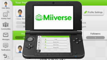 Miiverse on 3DS