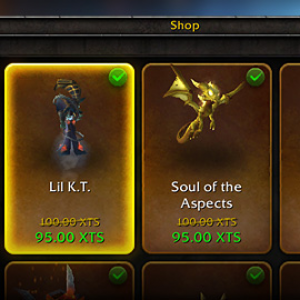 World of Warcraft In-Game Store
