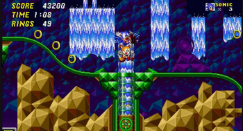 Sonic the Hedgehog 2 Hidden Palace Zone