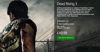 dead rising 3 UK price increase