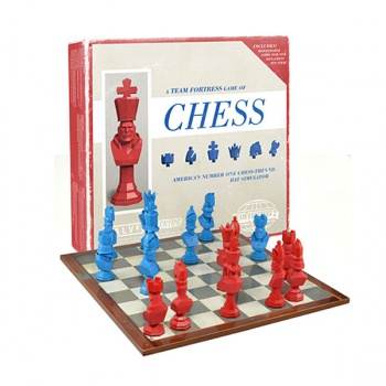 Team Fortress 2 Chess Set Is America S Top Chess Themed Hat