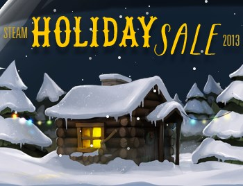 Steam 2013 holiday sale header