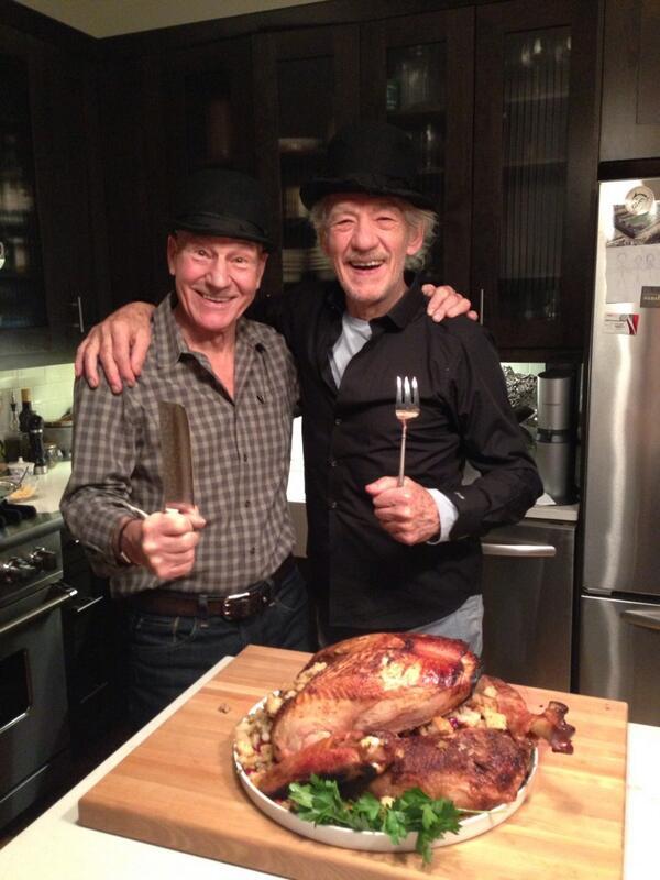Patrick Stewart and Ian McKellan 01