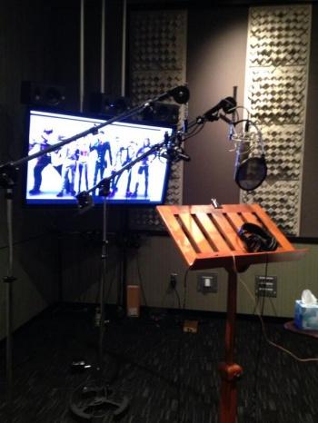 Saints Row recording booth