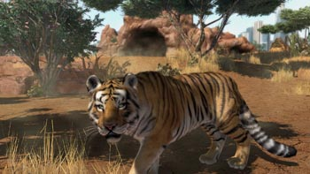 Zoo Tycoon tiger
