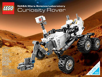 LEGO Mars Curiosity Rover
