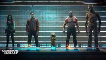 Guardians of the Galaxy Lineup 350