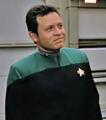 Then Prince Abdullah in an episode of Voyager originally broadcast in 1996.