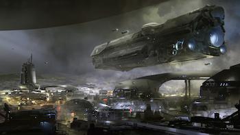 Halo 5 concept art tease