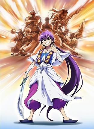 Magi Adventure of Sinbad anime