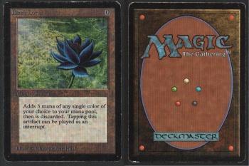 black lotus magic the gathering