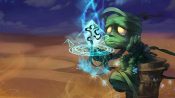 sad amumu league of legends image
