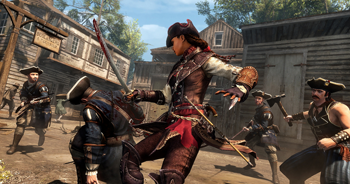 Aveline in Assassins Creed Liberation