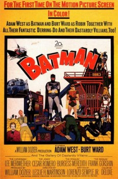 Batman film poster