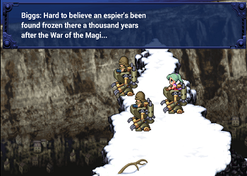 Final Fantasy VI Mobile Typo