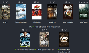 Humble Bundle Bohemia Interactive