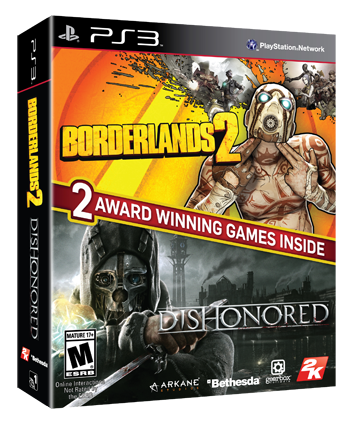 Dishonored and Borderlands 2 bundle