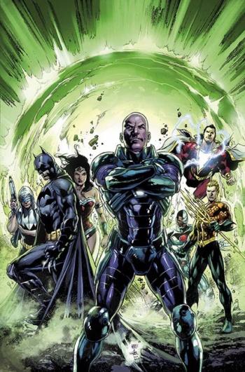 Justice League 30 Cover Lex Luthor
