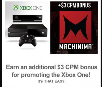 Xbox One CPM
