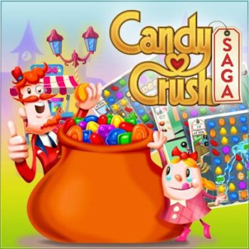 Candy Crush Saga art