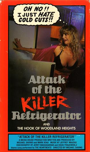 Attack of the Killer Refrigerator Poster