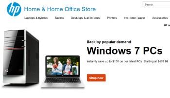 HP Windows 7 ad