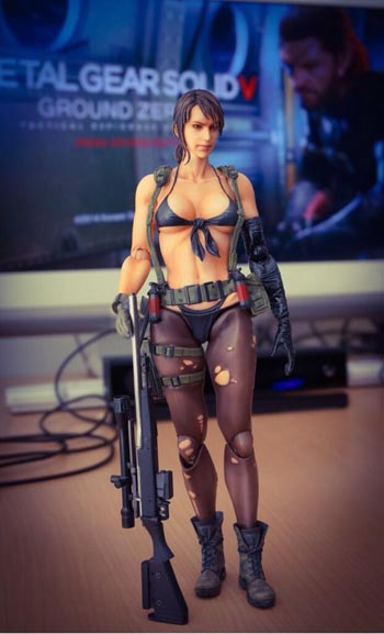 Quiet figurine prototype