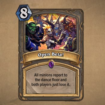 Hearthstone open beta