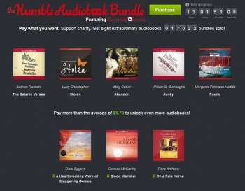 Humble Audiobook Bundle