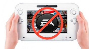 No More EA Games on Wii U