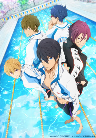 Free swimming anime