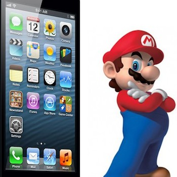 iPhone and Mario