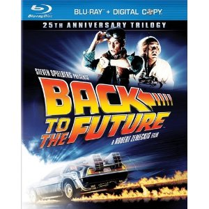 Back to the Future Blu-ray Case