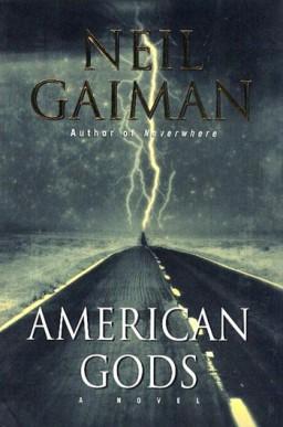Neil Gaiman American Gods book cover